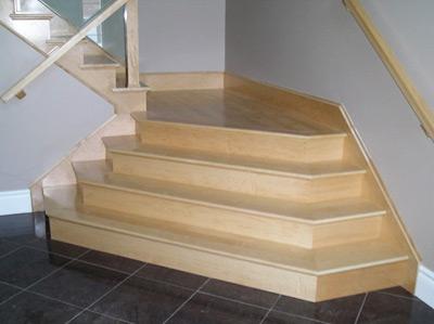 Escaleras interiores bricolaje casa - Disenos de escaleras de madera para interiores ...