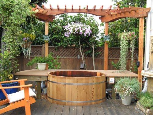 Tinas De Baño Rusticas:decoracion jardin