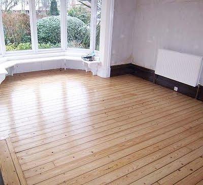 sustrato de piso de madera