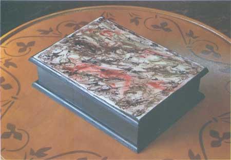 Pintar caja de madera bricolaje casa - Madera para pintar ...