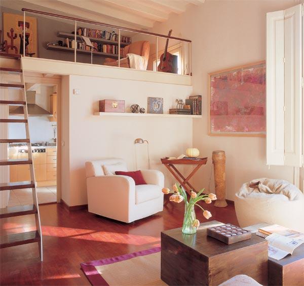 Poner un quitamiedo en el altillo bricolaje casa - Como hacer un altillo de madera ...