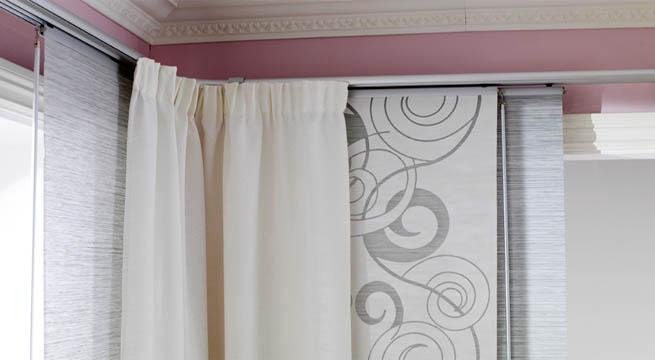Cortinas de barra bricolaje casa for Enganches cortinas