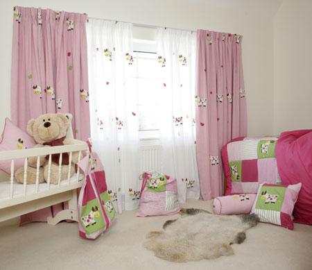Cortinas para cuartos de bebes bricolaje casa for Cortinas para cuarto de bebe