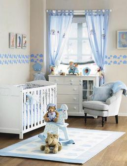 Cortinas para el cuarto del bebe bricolaje casa for Cortinas para cuarto de bebe
